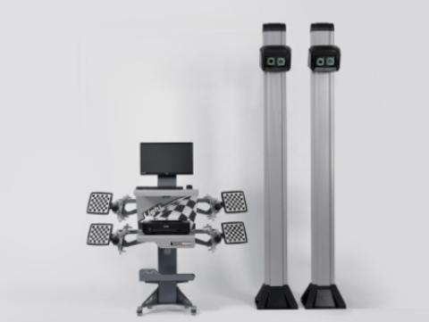 Стенд сход развала 3D Техно Вектор 7204 H A - Light