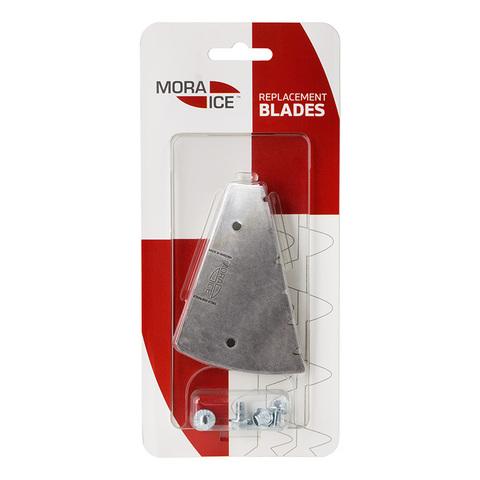 Сменные зубчатые ножи MORA ICE для шнека Power Drill 150 мм (с болтами для крепления ножей), 20590