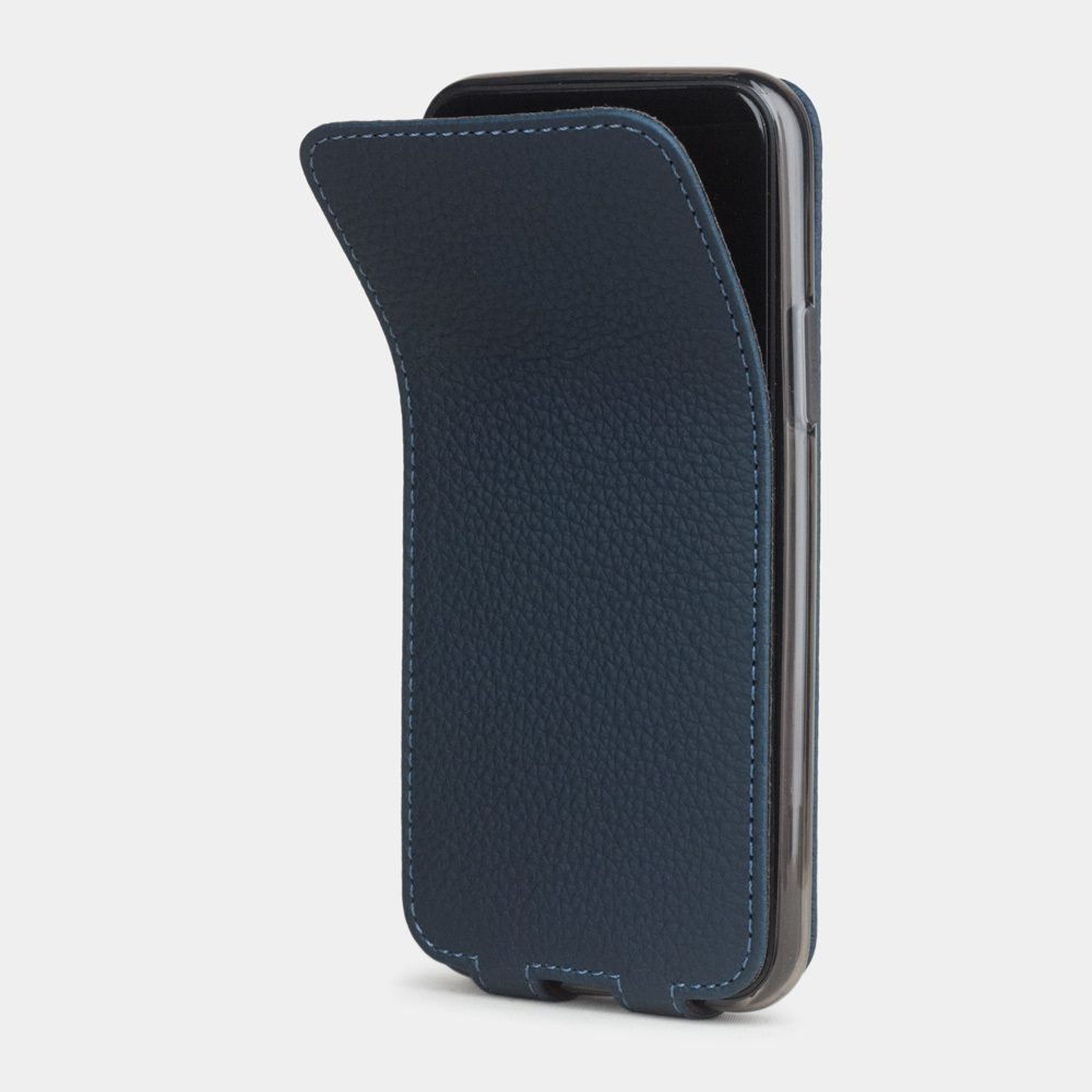 Case for iPhone 11 Pro - blue mat