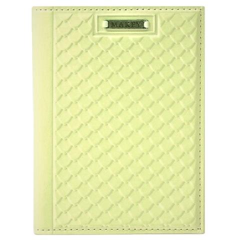 Обложка на паспорт «Fleur». Цвет лимонный