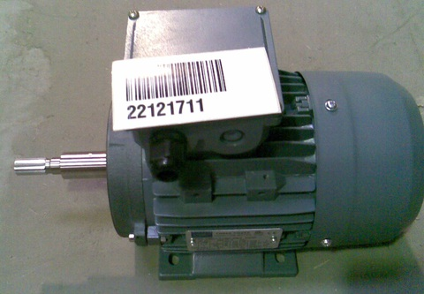 22121711 Электродвигатель переменный, однофазный, 550 Вт  3х400 В
