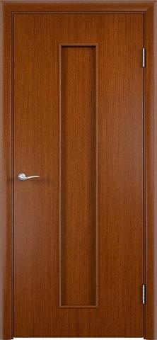 Дверь С-21 (макоре, глухая шпон файн-лайн), фабрика Верда