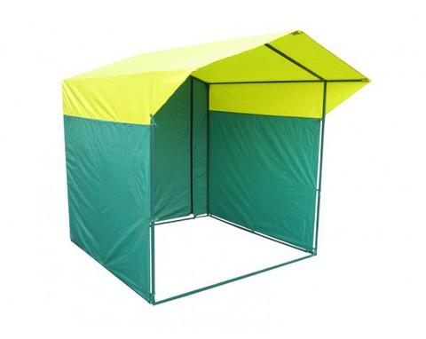 Торговая палатка Митек Домик 2x2 из квадратной трубы ⊡20х20 мм3