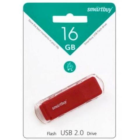 16GB USB-флеш накопитель DOCK SMARTBUY красный