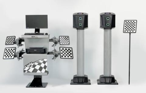Стенд сход-развал 3D Техно Вектор 7 Truck 7204 HT A - Light