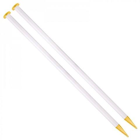 Спицы для вязания Addi прямые 35 см, 15 мм