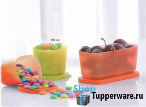 кубиксы tupperware 110 мл, 250мл.