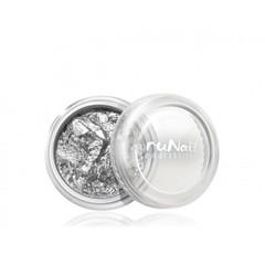 ruNail, Фольга для дизайна ногтей №1987, серебряная