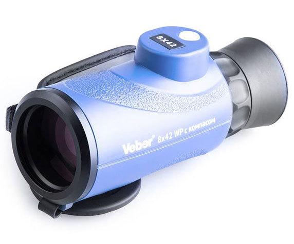 Морской монокуляр Veber BGD 8 42, синий