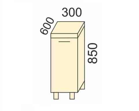 СОФЬЯ, СВЕТЛАНА, ПРЕМЬЕР, ПОЛИНАСтол (столешица в комплекте)300