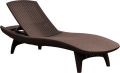Шезлонг Пацифик (Pacific) коричневый