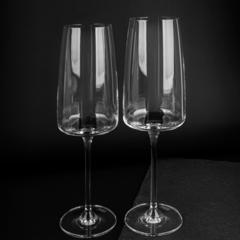 Набор фужеров для шампанского 388 мл, 2 шт, Sensa, фото 8