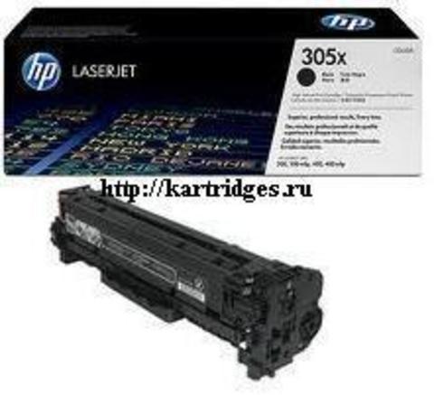 Картридж Hewlett-Packard (HP) CE410X №305X