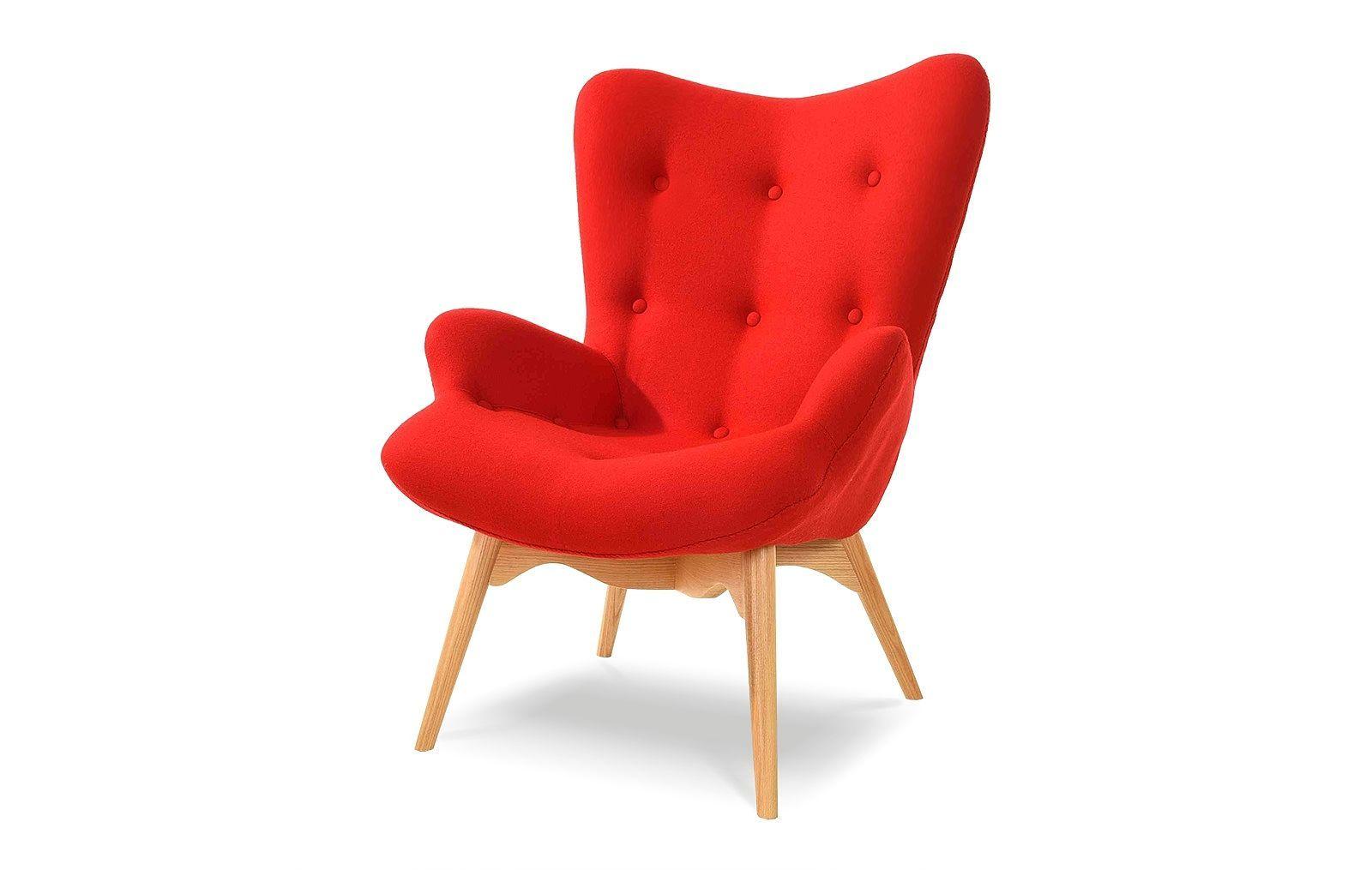 Кресло DC917 red-красное