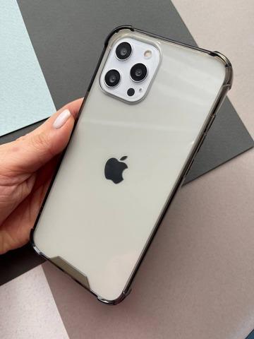 Чехол iPhone 12 Pro /6,1''/ Simple pure angle /black/ 446