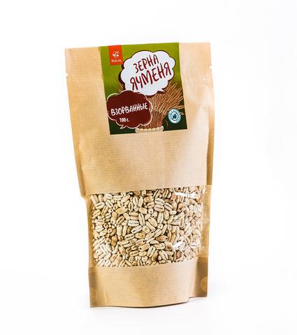Взорванные зерна ячменя, 100 г
