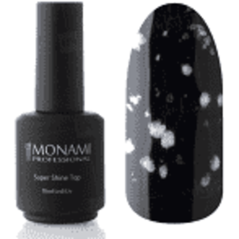 Monami Super Shine Top MARBLE White L, 15 мл
