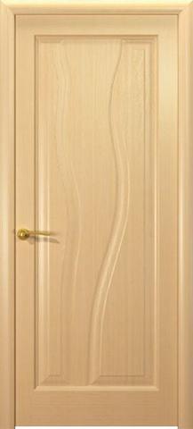 Дверь Гольфстрим new (беленый дуб, глухая шпонированная), фабрика Океан