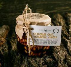 Кедровый орех в сосновом сиропе