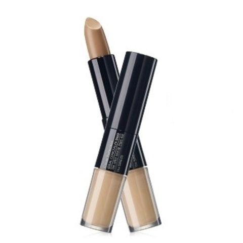 THE SAEM Cover P Консиллер двойной 2 Cover Perfection Ideal Concealer Duo02.Rich Beige