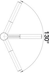 Смеситель Blanco Linee-S схема