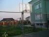 Стойка баскетбольная Г-образная уличная бетонируемая вынос 1.2м.