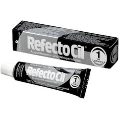 RefectoCil, Краска для бровей и ресниц № 1 Черная, 15 мл