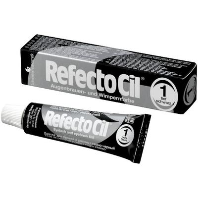 Краска для бровей RefectoCil, Краска для бровей и ресниц № 1 Черная, 15 мл refectocil-kraska-dlya-brovej-i-resnic-1-chernaya.jpg