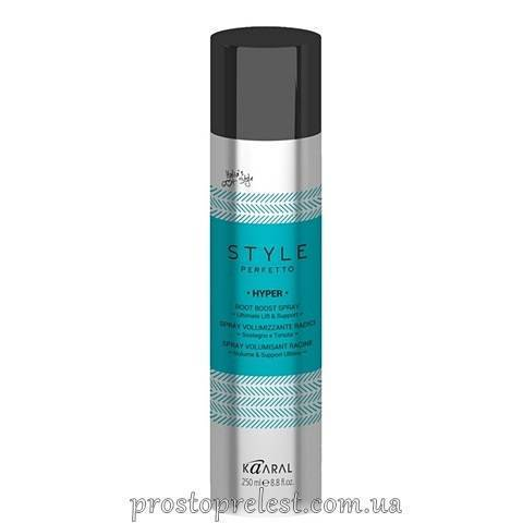 Kaaral Style Perfetto Hyper Root Boost Spray - Спрей для прикореневого об'єму волосся