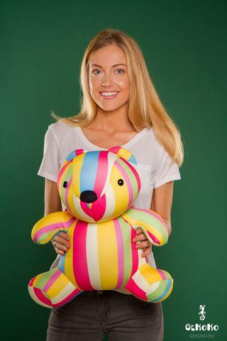 Подушка-игрушка «Мишка Мультифрукт»-2
