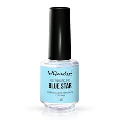 In'Garden, Сухое масло для ногтей и кутикулы с блестками, Blue star, 11 мл