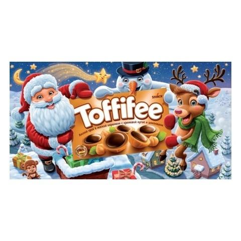 Новогодний набор Toffifee Санта и друзья 375 гр