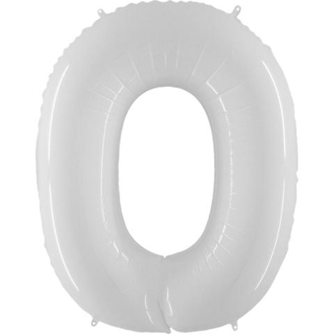 Цифры белые, 102 см