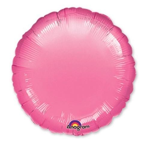 Круг Металлик, Розовый (46 см)