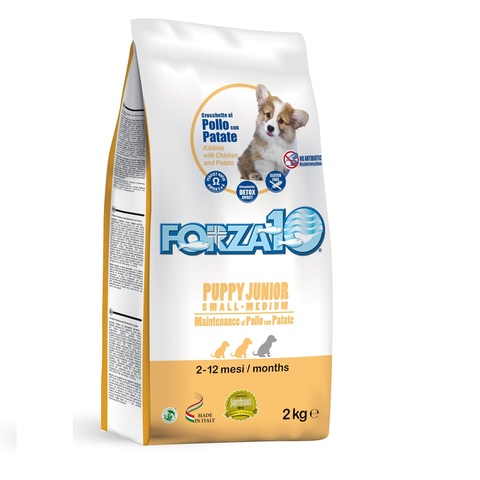 Forza10 PUPPY JUNIOR MAINTENANCE Small/Medium из курицы с картофелем