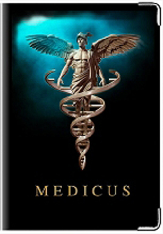 """Обложка для медицинской книжки """"Medicus"""""""