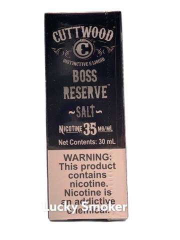Жидкость Cuttwood Salt 30 мл Boss Reserve