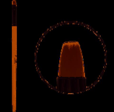 Кисть для геля TNL квадратная №6