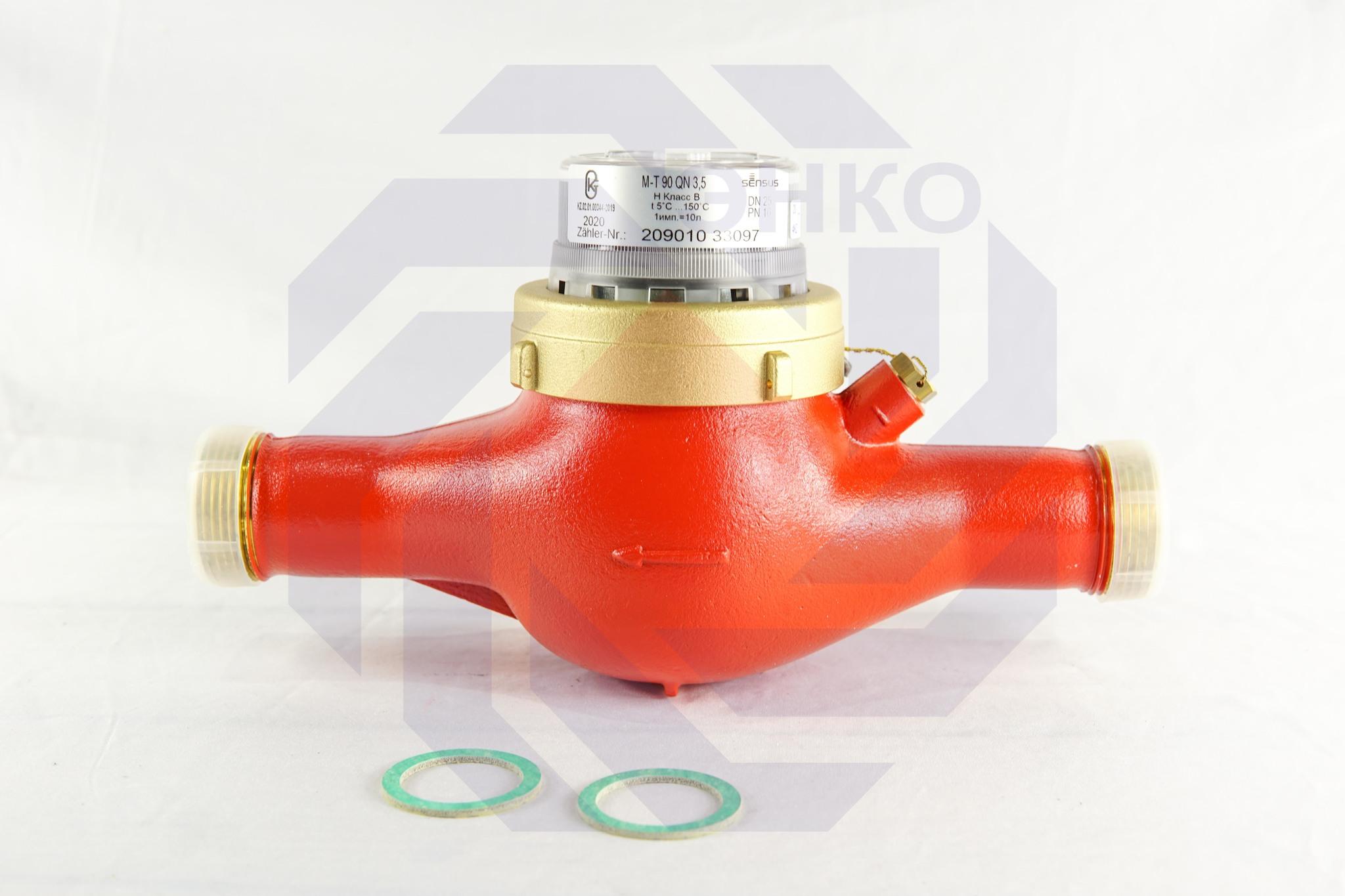 Счетчик горячей воды SENSUS M-T 90 QN DN 25