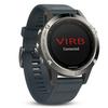 Беговые часы Garmin Fenix 5 с синим ремешком
