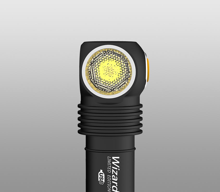 Мультифонарь Armytek Wizard Pro Magnet USB Nichia LED (Тёплый свет) - фото 5