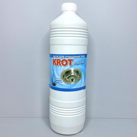 Средство для чистки труб Крот (жидкое) 1 л