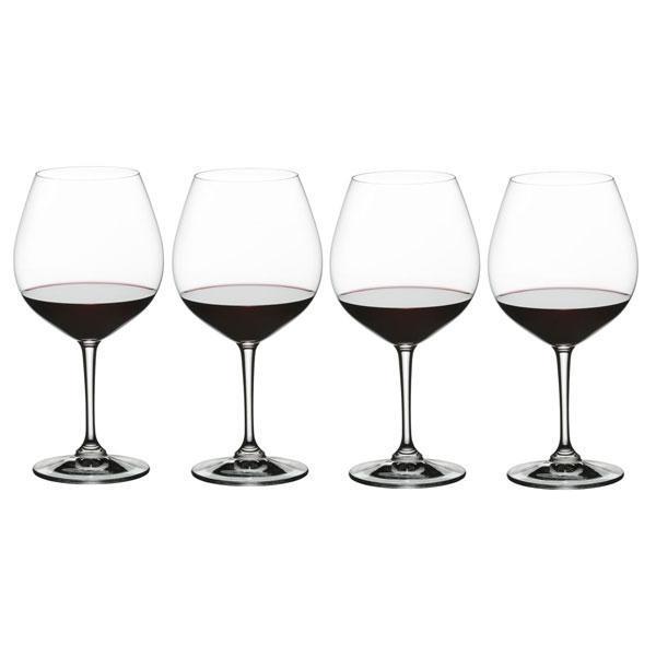 Купить набор бокалов для красного вина Бургундия, 4 шт, 700 мл, Vivino, Nachtmann
