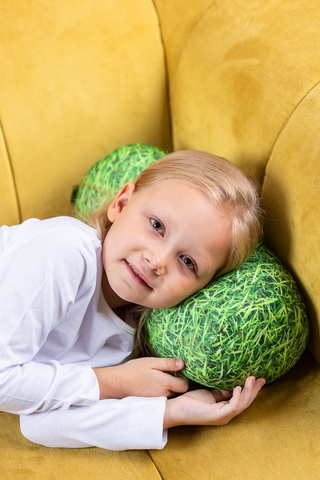 Подушка-игрушка «Травяной валик»-2
