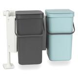 Набор ведер для мусора SORT&GO 12л (2шт), артикул 109980, производитель - Brabantia, фото 2