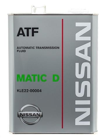 NISSAN ATF Matic-D Жидкость трансмиссионная АКПП (пластик/США)
