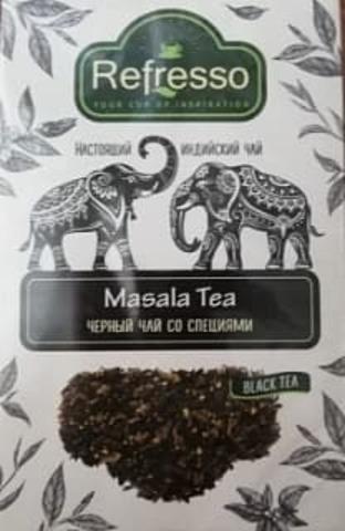 Чай черный Масала со специями, 100 г, Refresso (Индия)