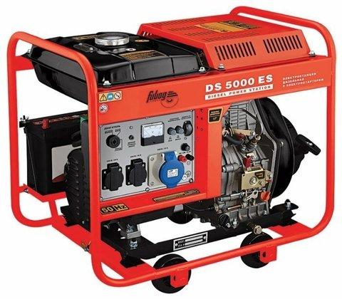 Кожух для дизельного генератора Fubag DS 5000 ES (4500 Вт)