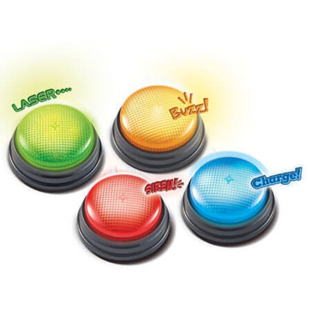 "Гигантские кнопки ""Свет и звук"" (4 элемента)"