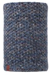 Шарф-труба вязаный с флисом Buff Margo Blue